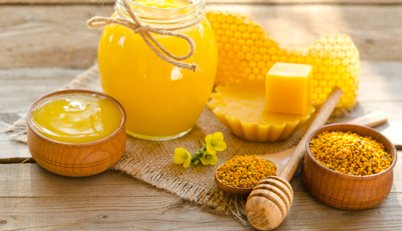 Image result for beeswax yellow là gì