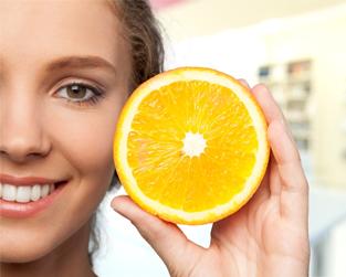 Bí quyết cho làn da trắng mịn với Ascorbic Acid (Vitamin C)
