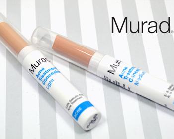 Review kem che khuyết điểm trị mụn Murad Acne Treatment Concealer
