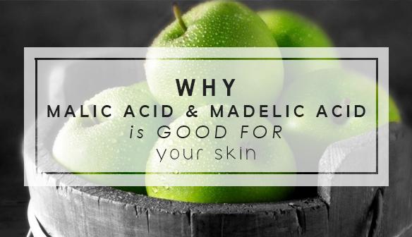 Malic Acid và Mandelic Acid - bí mật cho làn da trắng sáng