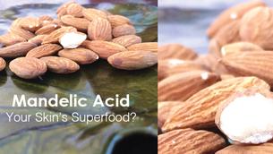 Malic Acid vs Mandelic Acid: bí quyết cho làn da sáng đẹp