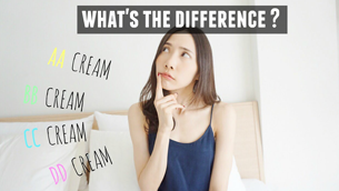 Có gì khác nhau giữa BB, CC, DD và EE Cream?