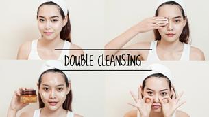 Khám phá và trải nghiệm phương pháp làm sạch da double-cleansing