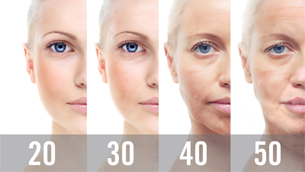 Làn da của bạn đã thay đổi như thế nào vào những năm 20s, 30s, và 40s?