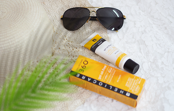 Review kem chống nắng Heliocare 360 gel oil-free SPF50 PA++++