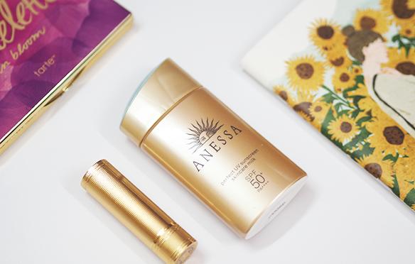 Review kem chống nắng Shiseido Anessa perfect UV sunscreen skincare milk SPF50+ PA++++